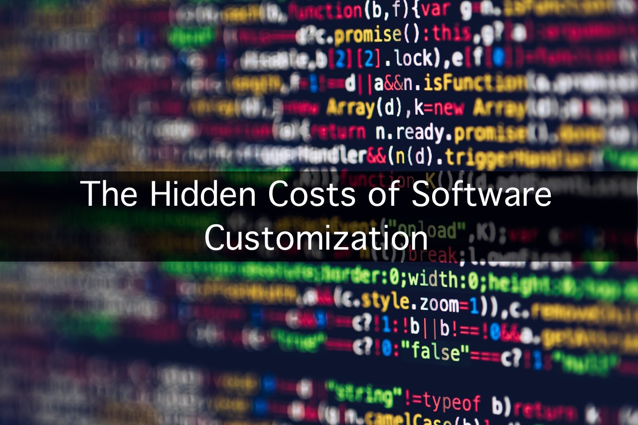 The Hidden Costs of Software Customization